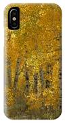 Golden Aspen IPhone Case