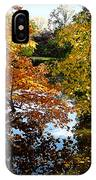 Golden Autumn Trees IPhone Case