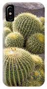 Golden Barrel Cactus IPhone Case