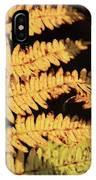 Golden Bracken IPhone Case
