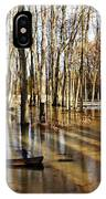 Golden Brown Pond IPhone Case
