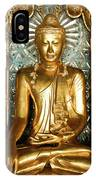 Golden Buddha IPhone Case
