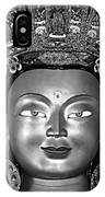 Golden Buddha Monochrome IPhone Case