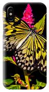 Golden Butterfly IPhone Case