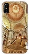 Golden City Hall IPhone Case