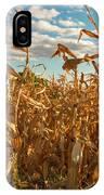 Golden Crop IPhone Case