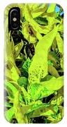 Golden Croton IPhone Case