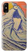 Golden Dawn On Matterhorn IPhone Case
