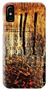 Golden Decay IPhone Case