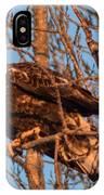 Golden Eagle Liftoff IPhone Case