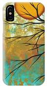 Golden Fascination 1 IPhone Case