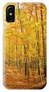 Golden Glory IPhone Case
