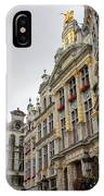 Golden Grand Place IPhone Case