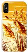 Golden Grasses IPhone Case
