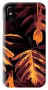 Golden Growth IPhone Case