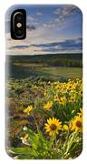 Golden Hills IPhone Case