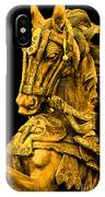 Golden Horse IPhone Case