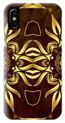 Golden Infinity IPhone Case