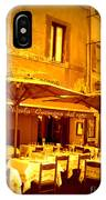 Golden Italian Cafe IPhone Case