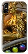 Golden Jester IPhone Case