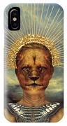 Golden Jungle Queen IPhone Case