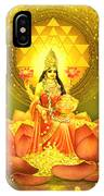 Golden Lakshmi IPhone X Case