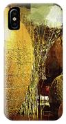 Golden Large Fountain Urns IPhone Case