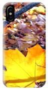 Golden Leaf IPhone Case