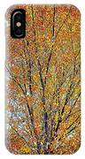 Golden Leaves - Oil Paint IPhone Case
