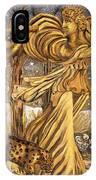 Golden Minstrels. IPhone Case