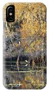 Golden On The River IPhone Case