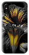 Golden Paintbrush  IPhone Case