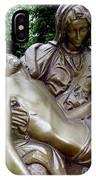 Golden Pieta IPhone Case