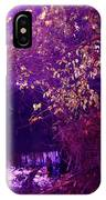 Golden Purples IPhone Case