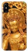 Golden Sculpture IPhone Case