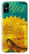 Golden Shell IPhone Case
