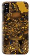 Golden Shimmer IPhone Case