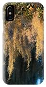 Golden Spanish Moss IPhone Case