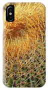 Golden Spines IPhone Case
