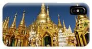 Golden Spires IPhone Case