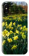 Golden Spring Carpet IPhone Case