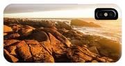 Golden Sunset Coast IPhone Case