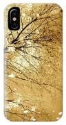 Golden Tones IPhone Case