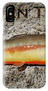 Golden Trout IPhone Case