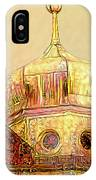 Golden Turret IPhone Case