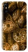 Golden Ufos From Egyptology  IPhone X Case