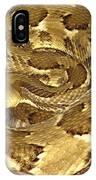 Golden Viper IPhone Case