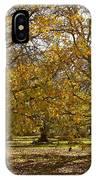Golden Walnut Orchard II IPhone Case