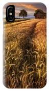 Golden Waves Of Grain IPhone Case