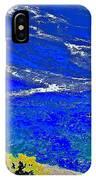 Golden Yarrow Rock Sea Point Lobos IPhone Case